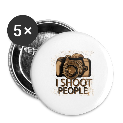Photographer - Buttons large 2.2'' (5-pack)