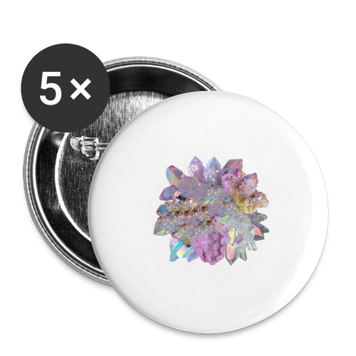 CrystalMerch - Buttons large 2.2'' (5-pack)