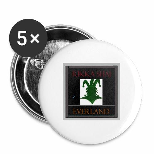 Rikka Shai Everland - Buttons large 2.2'' (5-pack)