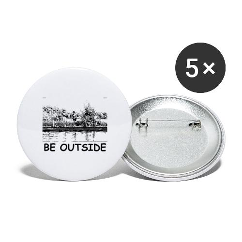 Be Outside - Buttons large 2.2'' (5-pack)