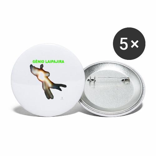 GE NIO LAIPAJIRA - Buttons large 2.2'' (5-pack)