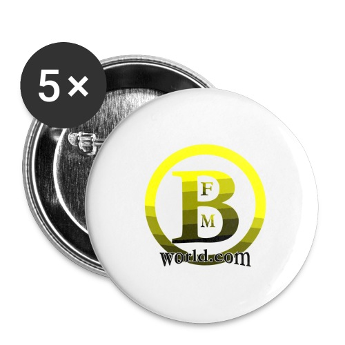 BFMWORLD - Buttons large 2.2'' (5-pack)