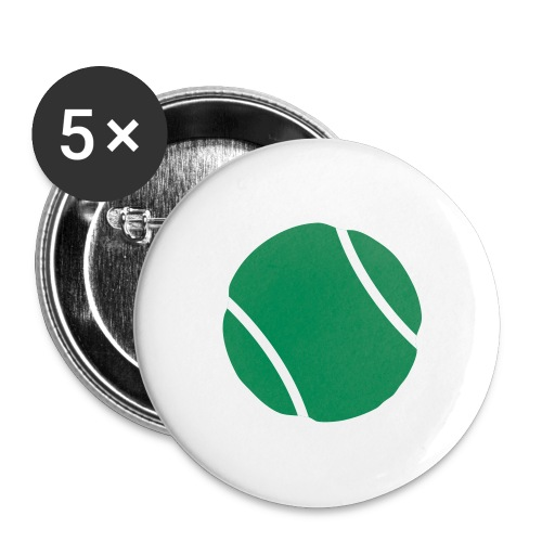tennis ball - Buttons large 2.2'' (5-pack)