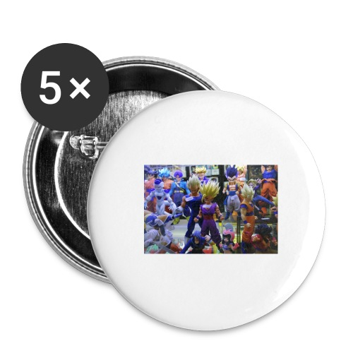 cartoons - Buttons large 2.2'' (5-pack)