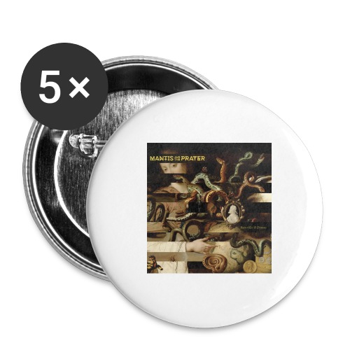 Mantis and the Prayer- Butterflies and Demons - Buttons large 2.2'' (5-pack)