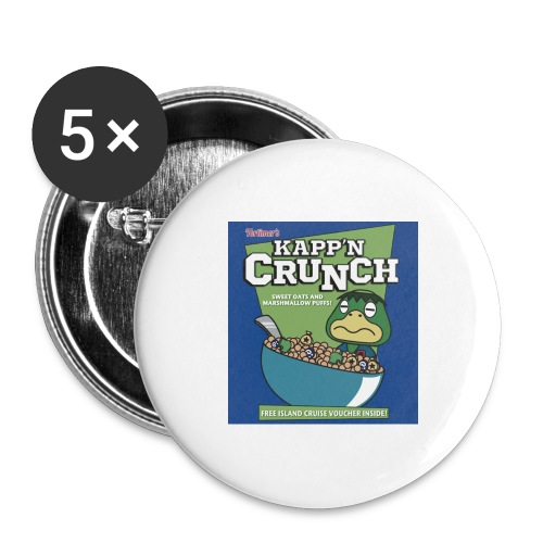 Kapp'n Crunch - Buttons large 2.2'' (5-pack)