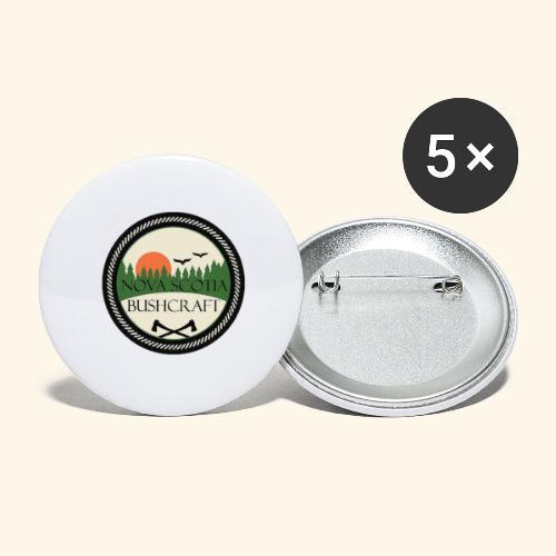 Nova Scotia Bushcraft - Buttons large 2.2'' (5-pack)