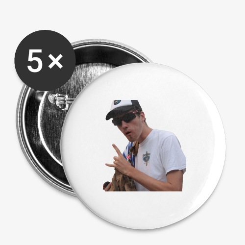 Big Bad Wolf - Buttons large 2.2'' (5-pack)