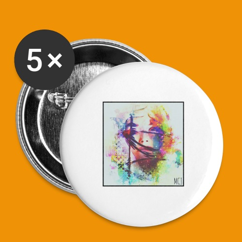 Trapped - Buttons large 2.2'' (5-pack)