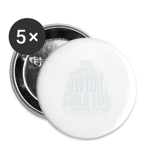 monstersofcowbellfront - Buttons large 2.2'' (5-pack)