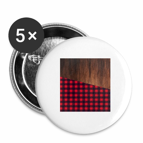 Wooden shirt - Buttons large 2.2'' (5-pack)