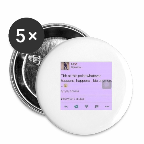 Idc anymore - Buttons large 2.2'' (5-pack)
