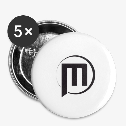 Mini Battlfield Games - Simple M - Buttons large 2.2'' (5-pack)