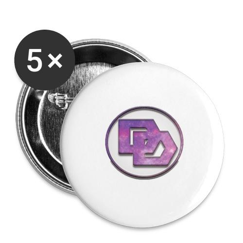 DerpDagg Logo - Buttons large 2.2'' (5-pack)