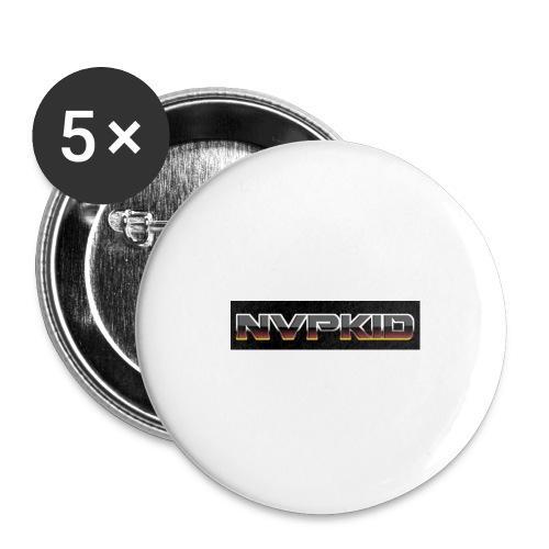 nvpkid shirt - Buttons large 2.2'' (5-pack)