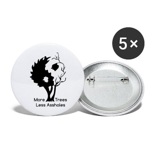 Yin Yang tree MTLA - Buttons large 2.2'' (5-pack)