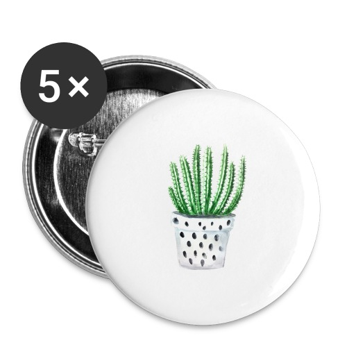 Cactus - Buttons large 2.2'' (5-pack)