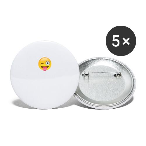 Crazy Love - Buttons large 2.2'' (5-pack)