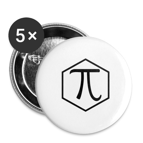 Pi - Buttons large 2.2'' (5-pack)