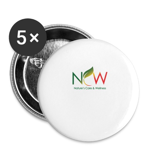 Ncw Big Logo - Buttons large 2.2'' (5-pack)