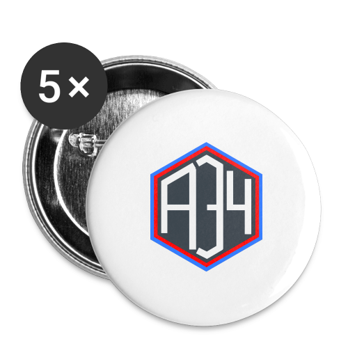 Adrian 34 LOGO - Buttons large 2.2'' (5-pack)