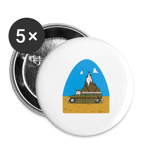 faith moves mountains 2018 - Buttons large 2.2'' (5-pack)