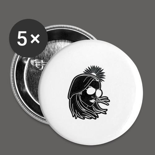SurferGirl - Buttons large 2.2'' (5-pack)