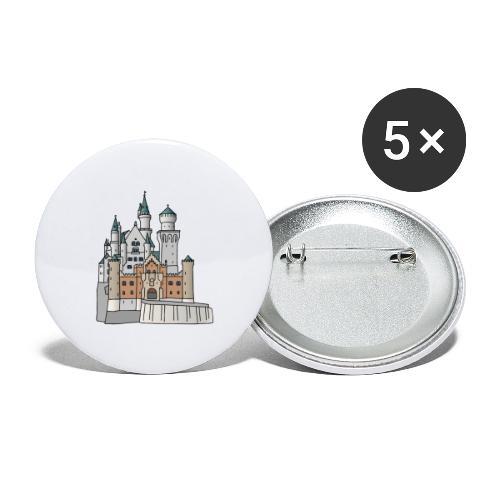 Neuschwanstein Castle, Bavaria - Buttons large 2.2'' (5-pack)