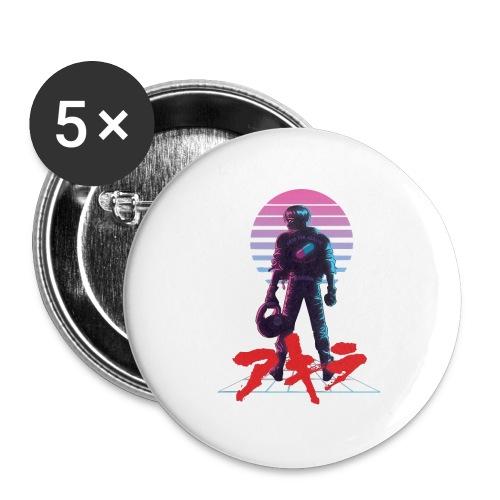 akira Kaneda - Buttons large 2.2'' (5-pack)