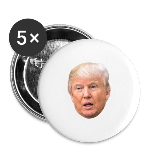 I will build a wall - Buttons large 2.2'' (5-pack)