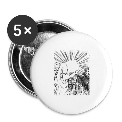 Knowing Jesus - Buttons large 2.2'' (5-pack)