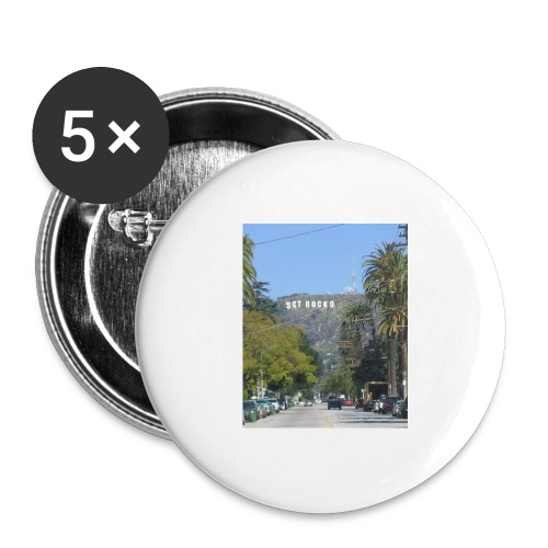 RockoWood Sign - Buttons large 2.2'' (5-pack)