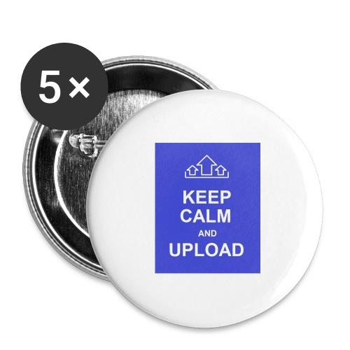 RockoWear Keep Calm - Buttons large 2.2'' (5-pack)