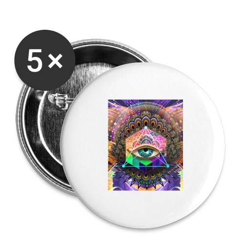 ruth bear - Buttons large 2.2'' (5-pack)