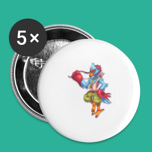 Tronis - Buttons large 2.2'' (5-pack)