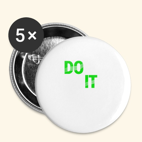 DON'T QUIT #4 - Buttons large 2.2'' (5-pack)