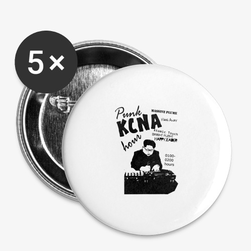 Kim Jong Il on the 1s and 2s - Buttons large 2.2'' (5-pack)