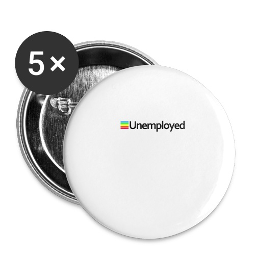 Polaroid - Unemployed - Buttons large 2.2'' (5-pack)