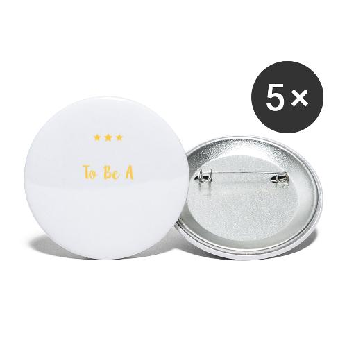 Born To Be A Winner - Buttons large 2.2'' (5-pack)
