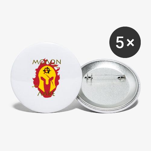 Molon Labe - Anarchist's Edition - Buttons large 2.2'' (5-pack)