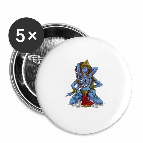 Sexy Hindu Goddess Kali - Buttons large 2.2'' (5-pack)