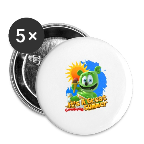 It's A Great Summer - Buttons large 2.2'' (5-pack)