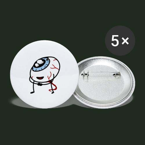 Eyeball - Buttons large 2.2'' (5-pack)