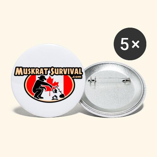 Muskrat Badge 2020 - Buttons large 2.2'' (5-pack)