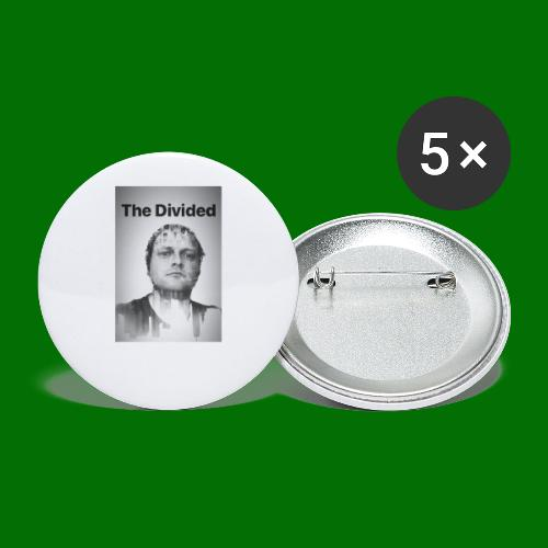 Nordy The Divided - Buttons large 2.2'' (5-pack)