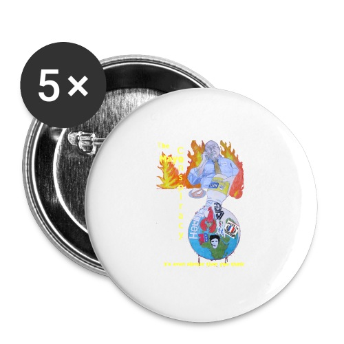 Mayo-Conspiracy - Buttons large 2.2'' (5-pack)