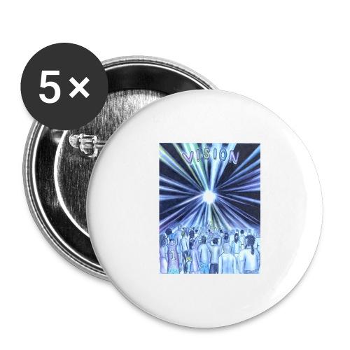 vision_color_1_Ink_LI - Buttons large 2.2'' (5-pack)