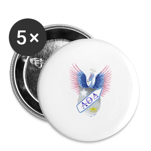 Crest - Buttons large 2.2'' (5-pack)