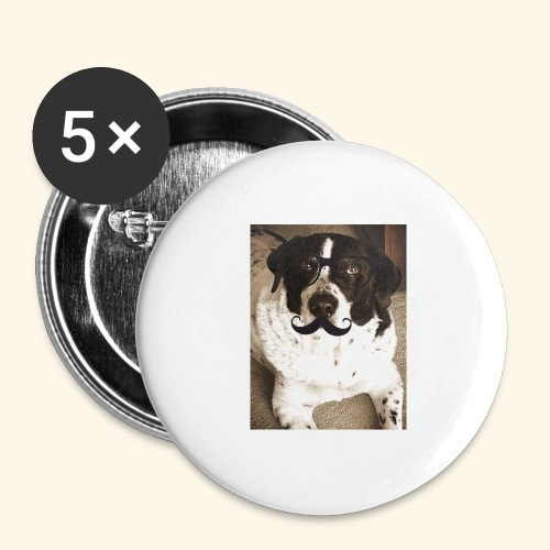 Old Pongo - Buttons large 2.2'' (5-pack)