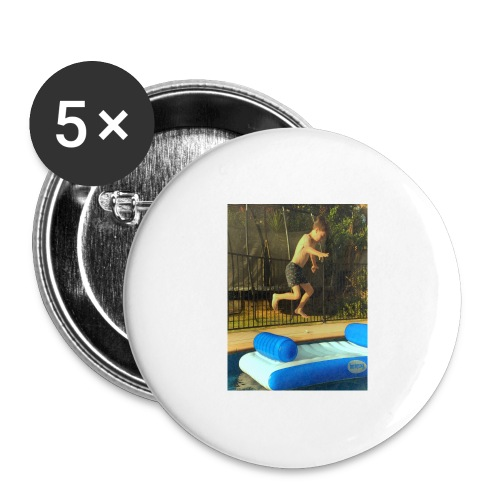 jump clothing - Buttons large 2.2'' (5-pack)
